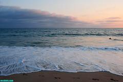 SummerBeachII (mcshots) Tags: ocean california sunset sea summer sky usa beach nature water clouds evening coast waves surfer stock shoreline footprints socal sands mcshots southbay swells hightide losangelescounty