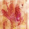Birdy Hop (AK Rockefeller) Tags: pink abstract bird art texture digital photoshop happy wings digitalart beak popart creativecommons humphreyking akrockefeller