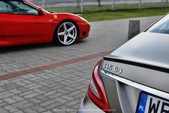 Mercedes CLS 63 AMG (mwalenczewski) Tags: red mercedes spider 360 ferrari amg cls cls63 lexani 360spider worldcars meredesbenz