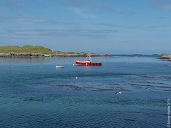 ... (mehunter) Tags: 14140mm britishisles dmcg6 greatbritain innerhebrides islay lumixgvario14140f3556 panasoniclumixg6 portnahaven scotland uk unitedkingdom boat landscape outdoor seascape transport