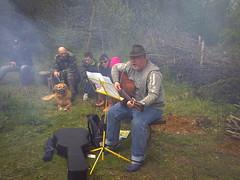Live folk music