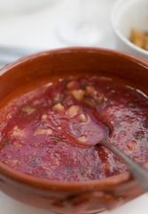 gazpacho (David Lebovitz) Tags: travel france cheese cuisine soup lot gazpacho gers mypariskitchen recipefrommypariskitchen