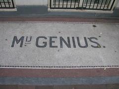 Amsterdam July 2014 (streamer020nl) Tags: holland netherlands amsterdam nederland mosaics genius lettering nl centrum amstel niederlande 210 2014 mozaiek mij binnenstad 310714 31july2014