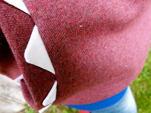 phoenix sewing cotton polyester handsewn crafty krafty craftivism homesewn cottonpoly knitfabrics monsterhoodieformegan