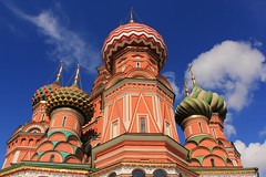 .    (   ) (Serge 585) Tags: old sky tower art history church architecture clouds canon religious cathedral russia moscow religion holy temples histoire antiques christianity russian orthodox architettura chapelle chrzecijastwo