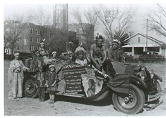 Sequoyah Club 1928 (University of Oklahoma) Tags: people history car campus student outdoor anniversary union nativeamerican tradition activities 125 universityofoklahoma sequoyah ous125thanniversary