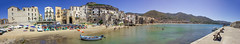 Panoramica Cefal (Ricky92f) Tags: sea canon boat pano sicily 1855 palermo cefal
