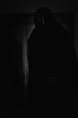 Figure (SanjayKalyan) Tags: light shadow dark creepy spooky cover covered faceless noface cloak lightandshadow cloaked