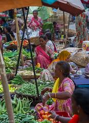 Market in Udaipur, India (Peraion) Tags: india vegetables women market udaipur rajahstan sellers