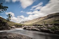 river etive (Jake Faulkner) Tags: longexposure sky river scotland glen etive glenetive riveretive
