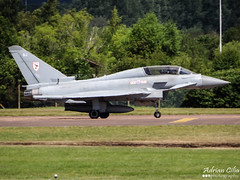 Royal Air Force --- Eurofighter EF-2000 Typhoon T3 --- ZJ801 (Drinu C) Tags: plane aircraft military sony eurofighter t3 dsc typhoon raf ffd fairford riat royalairforce ef2000 theroyalinternationalairtattoo egva zj801 hx100v adrianciliaphotography