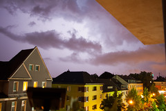 Stormy Weather (diskojez) Tags: cloud storm weather clouds cologne kln lightning gewitter koeln thunder wetter ehrenfeld
