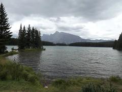 Two Jack Lake (h willome) Tags: lake canada alberta banffnationalpark 2014