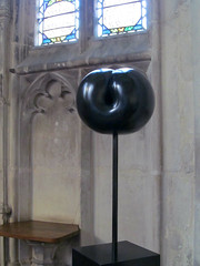 Plum (pefkosmad) Tags: sculpture art modernart plum exhibition gloucestershire gloucester gloucestercathedral donbrown crucible2 crucibleexhibition