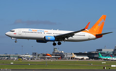 Sunwing Airlines 737-800 C-FTJH (birrlad) Tags: dublin airplane faro airport aircraft aviation airplanes landing airline 28 boeing arrival split airways approach airlines runway dub airliner 737 winglets scimitar arriving b737 737800 sunwing b738 7378bk cftjh