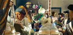 Girl with a Pearl Earring and Meth Lab (barry.kite@att.net) Tags: holland dutch collage crystal chemistry drugs parody vermeer meth chemicals pearlearring walterwhite aberrantart barrykite breakingbad