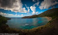 Hanauma Bay Nature Preserve Panorama (Kukui Photography) Tags: panorama hawaii unitedstates honolulu hanaumabay hanaumabaynaturepreserve