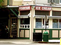 Ice cream shop (jessicabragen) Tags: ocean bridge roses summer beach inn downtown nj shore sunflower jersey shops boardwalk jerseyshore oceangrove oceangrovenj jerseystrong