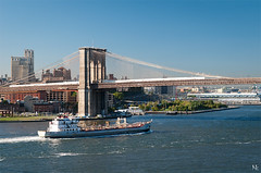 Brooklyn Bridge (noukorama) Tags: bridge usa newyork brooklyn dumbo brooklynbridge eastriver