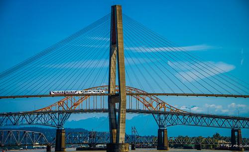 2014 - New Westminster - Fraser River Bridges