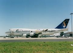 Ansett 747-400 (Gerry Rudman) Tags: sydney smith boeing 747400 kingsford ansett