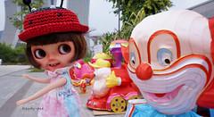 Someone's afraid of Clowns!!!