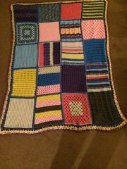 Cynthia Decker (The Crochet Crowd) Tags: mikey yarn blanket afghan cathy redheart challenge throw supersaver crochetsquares crochetchallenge thecrochetcrowd michaelsellick freeafghanpattern freecrochetvideos stitchcation