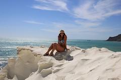 Falesia (Salvo Marturana) Tags: italy panorama italia mare cielo scala sicily sole falesia spiaggia dei sicilia agrigento scogliera turchi realmonte scaladeiturchi tamron1750 girgenti canon550d