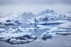 Into the fog (bgspix) Tags: blue sea lake ice fog clouds canon landscape iceland jokulsarlon islande ef24105mmf4lisusm iceberk canoneos5dmarkiii bbsphotography
