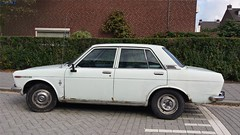 Datsun 1600 (sjoerd.wijsman) Tags: auto white holland cars netherlands car rotterdam nederland thenetherlands voiture 1600 vehicle holanda autos wit paysbas blanc olanda datsun fahrzeug niederlande zuidholland whitecar whitecars onk carspotting weis datsun1600 dcar ommoord carspot cwodlp rotterdamommoord 6885gm sidecode2