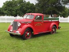 Red Diamond T Pickup Truck (Gerry Dincher) Tags: spiveyscorner spiveyscornervolunteerfiredepartment sampsoncounty northcarolina usroute13 nationalhollerincontest hollerinfestival ruralsouth rural redtruck diamondt warrenoilcompany gerrydincher