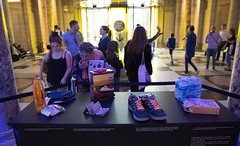 FRIDAY LATE -Making Trouble and Influencing People - August 2014 (V&A Friday Late) Tags: people for films objects exhibition trouble rebellion change late friday making workshops strategies disobedient influencing