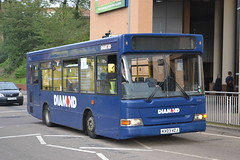 Rotala Group Blue Diamond 20304 KX03HZJ (Will Swain) Tags: uk travel blue england west bus buses britain transport group 4th september diamond midland midlands 2014 redditch rotala 20304 kx03hzj