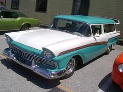 1957 Ford Del Rio (splattergraphics) Tags: ford wagon 1957 carshow stationwagon delrio customcar nsra yorkpa yorkexpocenter streetrodnationalseast
