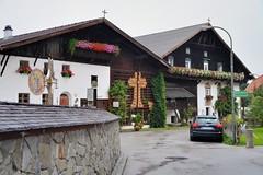 Corn Cob Cross (jpellgen) Tags: travel summer ski rain austria tirol corn nikon europe european skiing village cross august tamron tyrol 2014 igls 18200mm tyroleanalps innsruck d5100