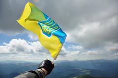 Ukraine! Never back down! (mantikora) Tags: freedom flag free ukraine strong nevergiveup
