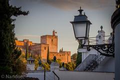 Vista de las calles del Albaicin (NANDORC) Tags: españa andalucia alhambra granada albaicin