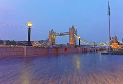 Tower Bridge HDR, London (Abhishikt) Tags: uk london towerbridge cityscape hdr
