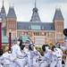 Flashmob Museumplein, Amsterdam, 07-09-2014