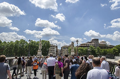 _DSC3204 (veronandrea78) Tags: italy cloud rome roma primavera spring nikon italia nuvole nuvola colosseum coliseum eternal città colosseo lightroom eterna 18105mm d7000