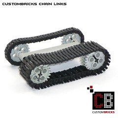 CustomBricks Chain Links Kettenglieder CB05 (LA-Design2012) Tags: tank lego wwii chain sd ww2 custom links panzer halftrack kfz sdkfz ketten wk2 kettenglieder custombricks
