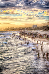 Santa Monica-8120_HDR (ddroke) Tags: sunset pier nikon santamonica d7100 droke