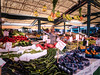 Rialto Market (Jim Nix / Nomadic Pursuits) Tags: aurorahdr2017 europe hdr italy jimnix lightroom macphun nomadicpursuits rialtobridge rialtomarket venezia venice canals farmersmarket fruitstand market travel vegetablestand
