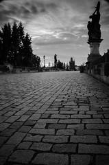 isolation (James Jacques) Tags: prague praha castle charles bridge bw monochrome nikon d7000 nikkor 1870 still quiet city cityscape landscape nd nd10 filter
