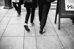 (red line highway) Tags: everyday routine life people motion movement street social documentary city nikon stpetersburg russia санктпетербург россия photography blackandwhite monochrome downtown legs man woman girl boy light 35mm