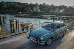 Volkswagen type 3 (Pierre Monneret) Tags: vw type 3 volkswagen original blue protection civile