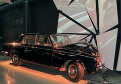 Rolls Royce Silver Shadow of Soviet leader Leonid Brezhnev on display at Riga Motor Museum. Riga, Latvia. September 22, 2016 (Aris Jansons) Tags: car vehicle brezhnev sovietleader rollsroyce silvershadow museum city capital riga rīga europe latvija latvia baltic 2016 mezciems motormuseum automobile limousine