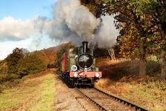 Autumn Steam (midlander1231) Tags: severnvalleyrailway svr kidderminster greatwesternrailway class1400 steam steamtrains steamlocomotives