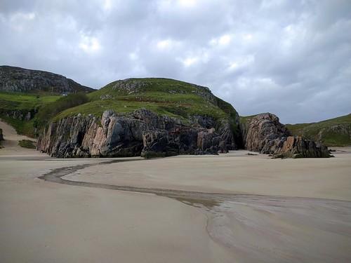 Ceannabeinne Beach, Durness