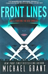 Front Lines (Vernon Barford School Library) Tags: 9780062342157 michaelgrant michael grant historic historical historicalfiction heroine heroines heroes alternativehistory alternativehistories womansoldier womensoldiers soldiers soldier woman women military action american americans army armies female females nazi nazis world war 2 two ii worldwar worldwartwo worldwar2 worldwarii secondworldwar 2ndworldwar 2nd second vernon barford library libraries new recent book books read reading reads junior high middle school vernonbarford fiction fictional novel novels hardcover hard cover hardcovers covers bookcover bookcovers youngadult youngadultfiction ya